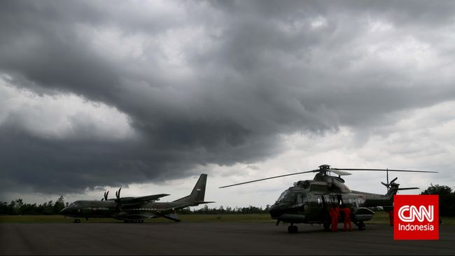 Zona RI Dilanggar Asing, TNI Tingkatkan Status Lanud Tarakan