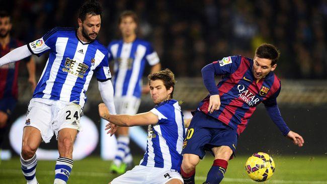Moyes dan Kemenangan Sociedad atas Barcelona