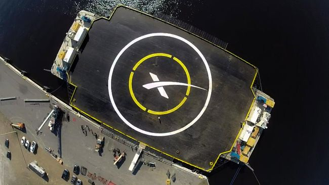 SpaceX Hanya Butuh Waktu 30 Menit untuk Tempuh New York-Paris