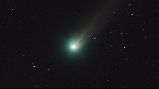 Komet Lovejoy Hiasi Langit di Bulan Januari