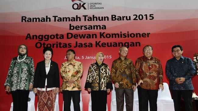 2016, OJK Incar Rp 3,8 Triliun dari Iuran Lembaga Keuangan