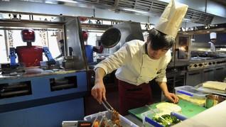 Teater Robot Jadi Atraksi Ajaib di 'Robot Restaurant'