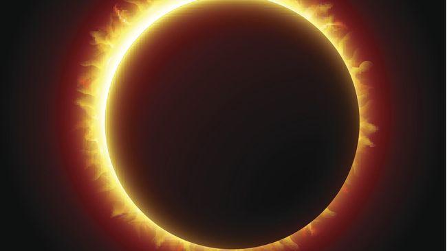 Jerman Terancam Dilumpuhkan Gerhana Matahari Total