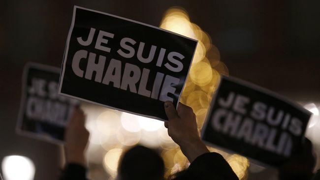 Kisah di Balik Pembuatan Slogan 'Je Suis Charlie'