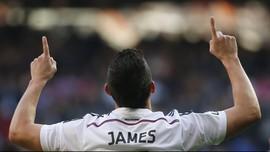 Valderrama: James Bisa Saingi Messi dan Neymar