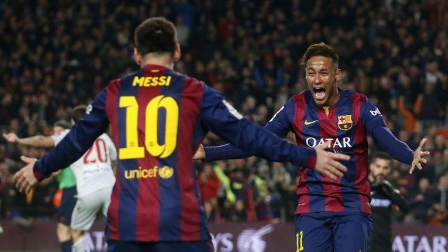Lionel Messi Bantu Neymar Jadi Pemain Bintang