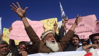 Terpidana Penistaan Agama Bebas, Warga Pakistan Demo Besar