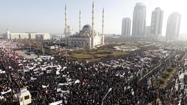 Protes Charlie Hebdo, Warga Chechnya Turun ke Jalan