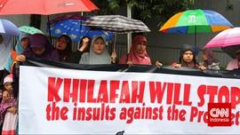Acara Internasional HTI Batal Digelar di Masjid Arifin Ilham