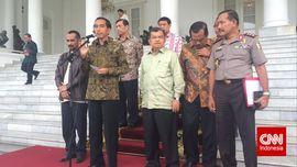 Jokowi Tegur Lima Kementerian di Paripurna Kabinet