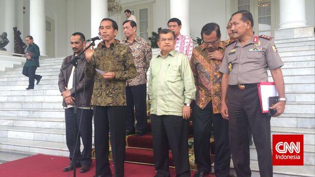 Jokowi: Jangan Ada Gesekan antara Polri dan KPK