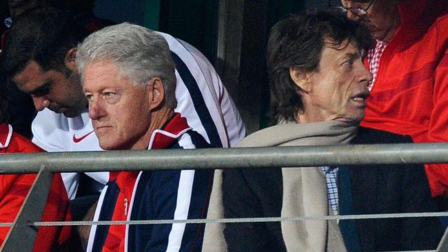 Mick Jagger Bawa Sial dalam Sepak Bola
