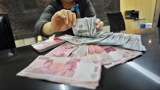 Data Makroekonomi Minim, Rupiah Keok ke Rp13.695 per Dolar AS