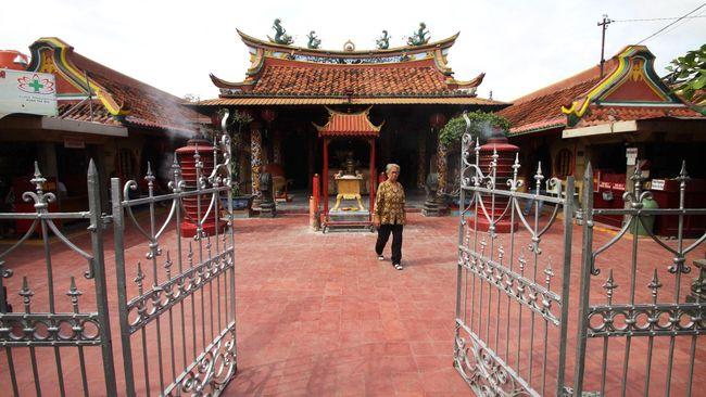 Merawat Kebhinekaan di 'Kota China Kecil' saat Lebaran
