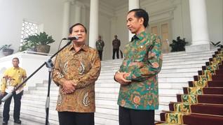 Pertemuan Jokowi-Prabowo Diyakini 'Dinginkan' Pilpres 2019