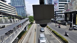 Polisi Ajukan Penambahan 81 Kamera Tilang di Monas hingga GBK