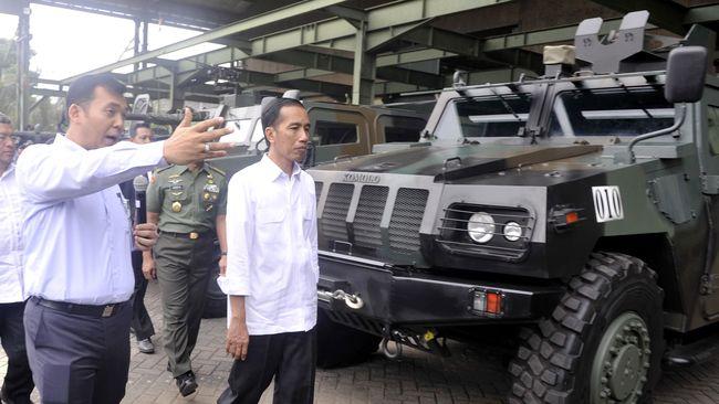 Jadi Warga Kehormatan, Jokowi Naikkan Tunjangan Prajurit TNI