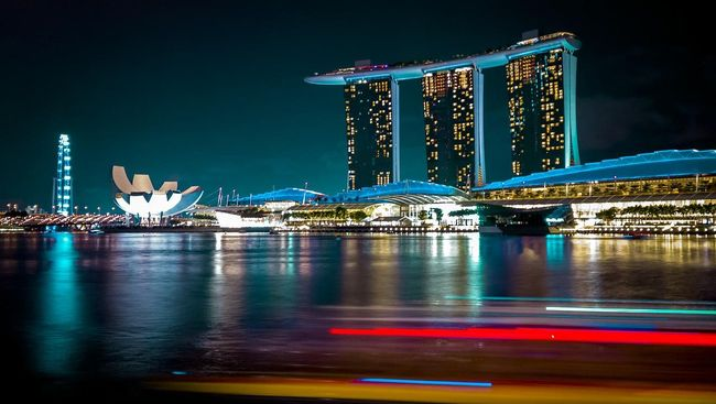 Lokasi Syuting Film 'Crazy Rich Asians' di Singapura