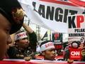 Aksi Delapan Elemen Masyarakat Warnai Sidang Budi Gunawan