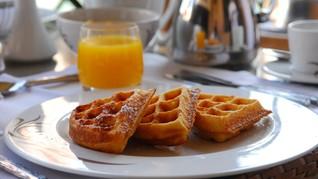 Waffle Bertabur Gula, Satu Penganan Menggiurkan di Coachella