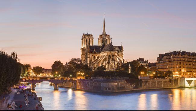 Beberapa Objek Wisata di Sekitar Notre Dame