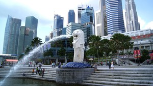 Demi Pembangunan, Singapura Akan Gusur Patung Ikonis Merlion