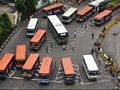 Ahok Akui Mayoritas Bus Kota Tak Layak Jalan