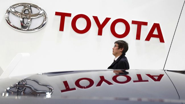 Laba Bersih Toyota Drop Hampir 25 Persen pada Tahun Lalu