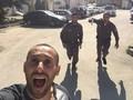 Selfie Saat Dikejar Tentara Israel Viral di Internet