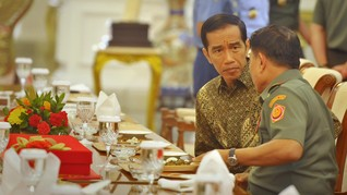 Strategi Politik Jokowi di Lingkaran Jenderal Pensiunan