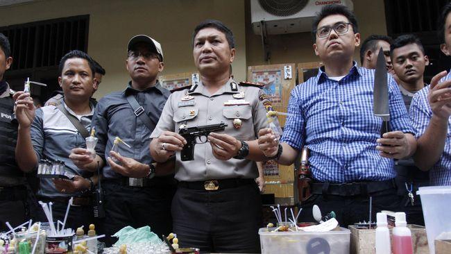 Polisi Tangkap 5.000 Pelaku Kriminal Jelang Asian Games 2018