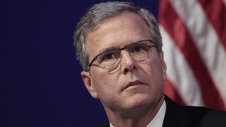 Jeb Bush Diet Manusia Gua Hadapi Pilpres AS
