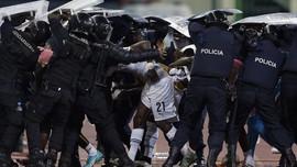 Rusuh dan Gas Air Mata di Laga Ghana vs Guinea