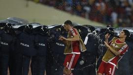 Potret Kerusuhan di Semifinal Piala Afrika