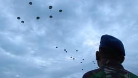 40 Tahun Penerjunan di Dili, Luhut Kembali ke Markas Kopassus