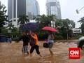 Hujan Jakarta Diduga karena Seruak Dingin Siberia
