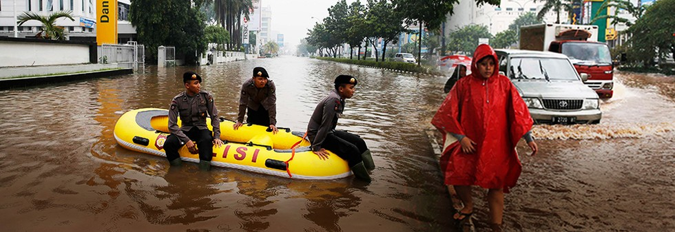 Jakarta Masuki Puncak Musim Hujan