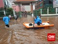 Kemensos Taksir Pengungsi Banjir Jakarta Capai Belasan Ribu