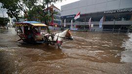 Ahok Terima Bantuan Rp 7 Miliar untuk Atasi Banjir Jakarta