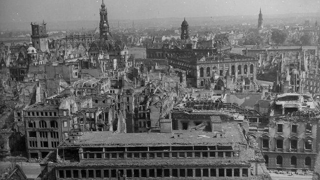 Pengeboman Perang Dunia II Membuat Dresden Anti Islam