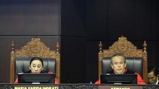 Sembilan Calon Hakim MK Pengganti Maria Farida Lolos Seleksi