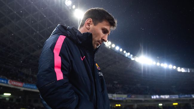 Lawan Valencia, Messi Capai Gol ke-400 Untuk Barca