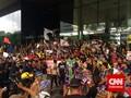Ratusan Massa Datangi KPK Dukung Perjuangan Lawan Korupsi