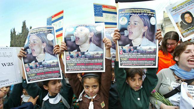 Israel Tolak Banding Rachel Corrie, Aktivis Pembela Palestina