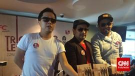 Tompi Terbeban Nyanyikan 'Indonesia Raya' di Piala Presiden
