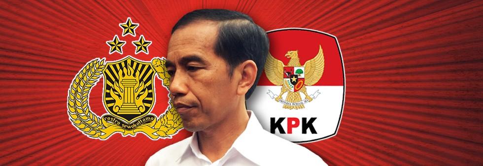 Solusi Jokowi untuk Kisruh KPK-Polri