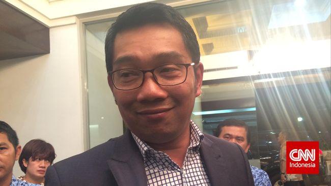 Kebersamaan Singkat Ridwan Kamil dan Dedi Mulyadi