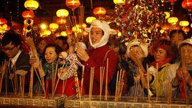 Semarak Tahun Baru Imlek di Asia