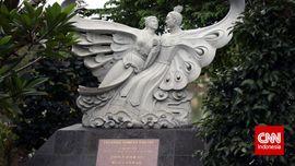 Patung - Patung Penuh Cerita di Taman Budaya Tionghoa
