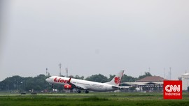 Landasan Pacu Juanda Amblas Saat Dilalui Pesawat Lion Air